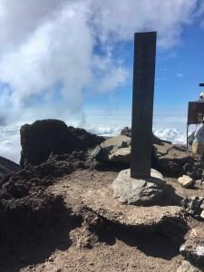 ⑤日本の最高峰 3,776m